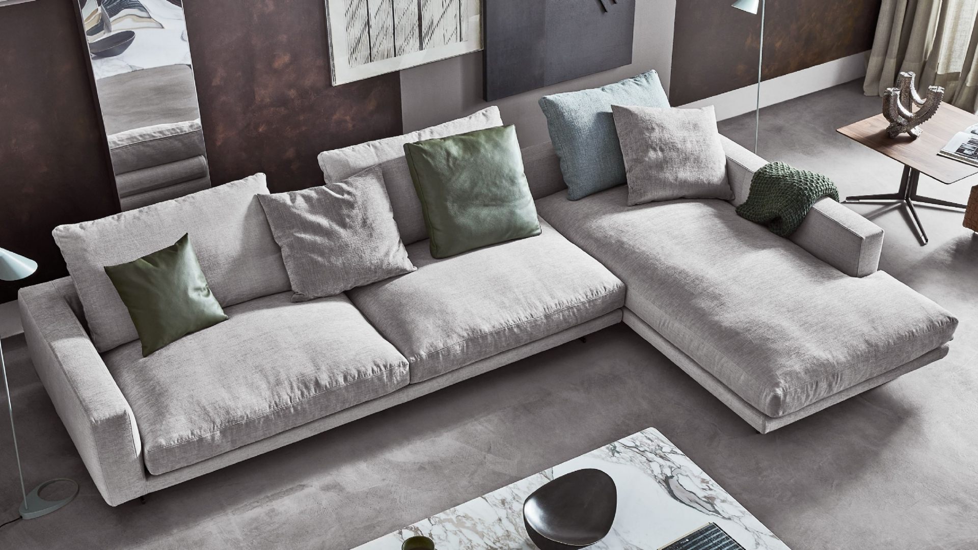 Il divano, il cuore del soggiorno